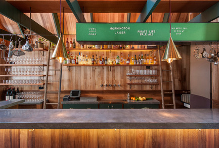 Press kit | 1124-09 - Press release | WIN Awards - Hospitality Shortlist Announced - World Interiors News - Commercial Interior Design - WIN Awards 2016 - Bars Category:&nbsp;Pink Moon Saloon by Sans-Arc Studio (Australia)<br><br>The client's brief was to integrate a narrative of campfire cooking and a childlike nostalgia for nature with a bar and kitchen, in a narrow alleyway in the CBD of Adelaide. The design process centred on exploring the typology of the wilderness hut, creating a moment of warmth and respite.&nbsp;&nbsp;<br><br>Huts are traditionally located in remote areas and in geographically unique places, meaning construction materials must be sourced from the immediate locality. The intention with Pink Moon Saloon was to create a specific identity and vernacular style by designing and building in the way a hut is traditionally constructed; with an intimate knowledge of its context and climate.<br><br>'An excellent solution to a difficult space and is really special in its simplicity'.CN&nbsp;<br><br>'Predominantly clever in its approach to 'place making'. We felt there is purity to both the exterior and interior…architecturally it is exquisite.' JT&nbsp;<br><br>'An excellent architectural proposal.' MA&nbsp;<br><br>'The building demonstrates a great touch of genius - to use a small alleyway as a bar, including an open outside area. The interiors are both cosy and comfortable.' PJ<br> - Photo credit: Sans-Arc Studio