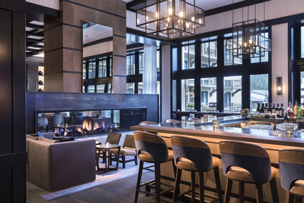 Press kit | 1124-09 - Press release | WIN Awards - Hospitality Shortlist Announced - World Interiors News - Commercial Interior Design - WIN Awards 2016 - Bars Category:&nbsp;Remedy Bar by Meyer Davis Studio Inc. (United States of America)&nbsp;<br><br>Located in a luxury resort in Vail, the design team employed a rich narrative by meshing the inspirations of an apothecary with the materiality of a ski lodge. This renovation transformed a classic lobby lounge into a bustling social lobby bar. The square bar is made of zinc lined with leather, creating a shiny centerpiece that now invites the eye to travel through the floor to ceiling windows to the views of Vail mountain. Tables of walnut are interspersed with industrial elements and stone, creating an eclectic atmosphere that is still clean and modern. Energized by floor-to-ceiling mountain views, more additional lounge-like living rooms finger off both ends of the main bar allowing for intimate socializing. A medley of furnishings – modern, industrial and cabin chic – cohesively appeal to the cosy Vail Valley venue.<br><br>'Exquisitely detailed and designed in terms of responding to the architecture of the building and the principal elevations. We had nothing bad to say about this bar…we were extremely impressed with every detail of the design.' JT<br> - Photo credit: Meyer Davis Studio Inc.