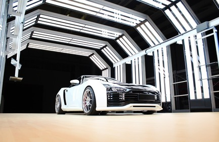 Press kit | 2086-01 - Press release | A Tunnel With Unique LED Lighting - Eisenmann - Industrial Design - Photo credit:  Eisenmann