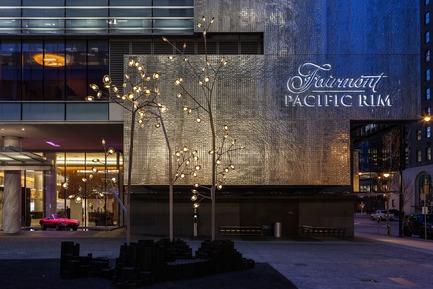 Dossier de presse | 2065-01 - Communiqué de presse | 'The Owner's Suite Collection' is Unveiled   at Fairmont Pacific Rim in Vancouver, Canada - Fairmont Pacific Rim - Commercial Interior Design - Hotel Exterior - Crédit photo : Fairmont Pacific Rim