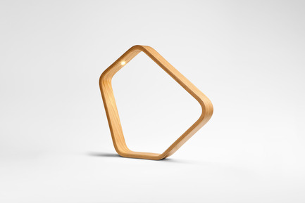 Press kit | 1834-08 - Press release | Destination At Downtown Design: Showcasing Stand-Out Design From Around The World - Downtown Design - Event + Exhibition - <br>Taiwan Designers' Week, META Leer LED Woooden Lamp<br> - Photo credit: Downtown Design