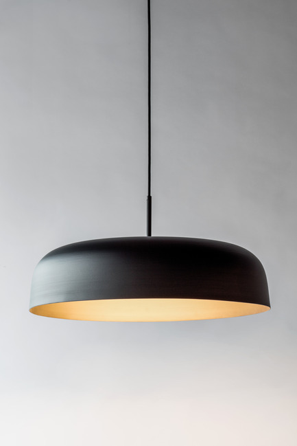 "Press kit | 2179-01 - Press release | Atelier Anaka Launches Online Boutique for Modern, Handmade Lighting - Atelier Anaka - Lighting Design -  Jerome Dome 23"" from $450 CDN - Photo credit: Adrien Williams"