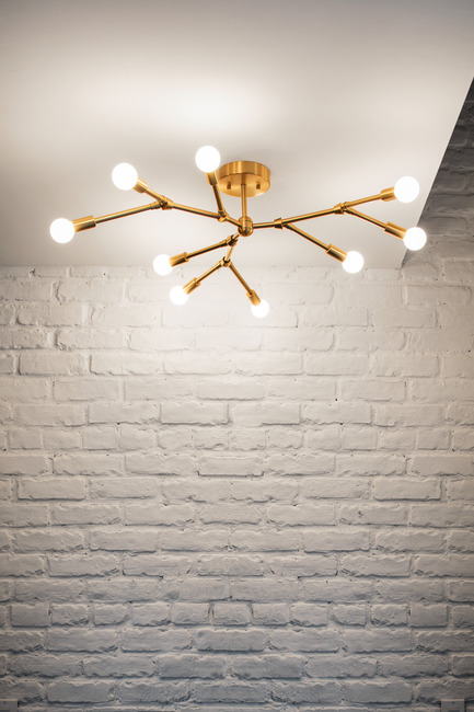 Press kit | 2179-01 - Press release | Atelier Anaka Launches Online Boutique for Modern, Handmade Lighting - Atelier Anaka - Lighting Design -  Alain.9 Ceiling, from $900 CDN - Photo credit: Adrien Williams