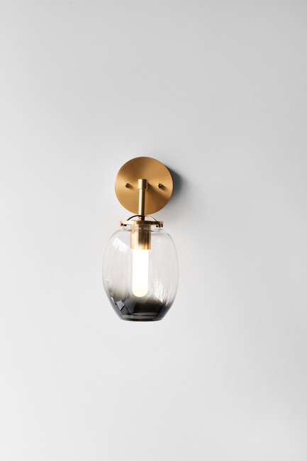 Press kit | 2179-01 - Press release | Atelier Anaka Launches Online Boutique for Modern, Handmade Lighting - Atelier Anaka - Lighting Design -  Rosella.1 Sconce, from $395 CDN - Photo credit: Adrien Williams