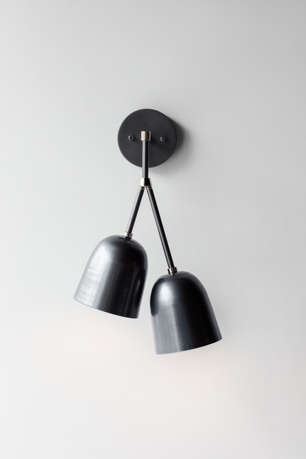 Press kit | 2179-01 - Press release | Atelier Anaka Launches Online Boutique for Modern, Handmade Lighting - Atelier Anaka - Lighting Design -  Tara.2 Sconce, from $395 CDN - Photo credit: Adrien Williams