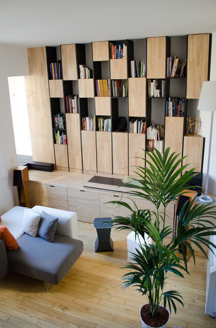 Press kit | 2180-01 - Press release | A big LITTLE nest - Mickaël Martins Afonso & L'atelier miel - Residential Interior Design - Living Room - Photo credit: Mickaël Martins Afonso