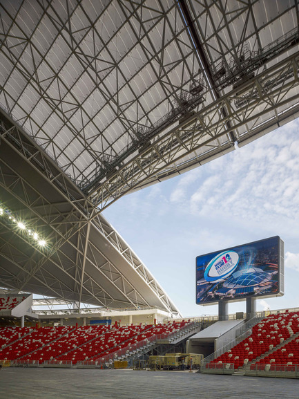 Press kit | 2186-01 - Press release | Singapore National Stadium - Arup Associates - Institutional Architecture -  Elite-level sports functionality as well as every-day use are both key drivers for the new National Stadium design  - Photo credit:  Christian Richters