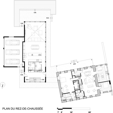 Press kit | 1062-02 - Press release | Bord-du-Lac House - Henri Cleinge, architect - Residential Architecture