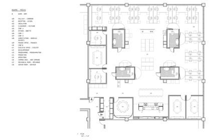 Dossier de presse | 1142-05 - Communiqué de presse | Piknic Électronik Montréal - L. McComber - Design d'intérieur commercial - Plan - Crédit photo : L. McComber