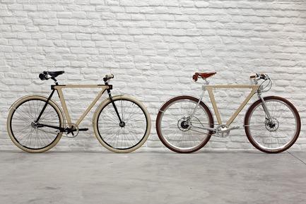 Dossier de presse | 1091-01 - Communiqué de presse | WOOD.b, un vélo urbain en bois et acier - BSG BIKES - Produit - Crédit photo : by spielplatz. 2013