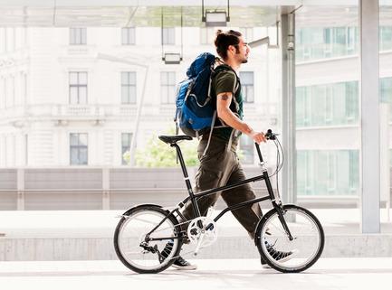 Press kit | 1833-02 - Press release | The World's First Self-Charging Electric Folding Bike - VELLO bike+ - Lifestyle - VELLO bike+ THE FIRST SELF-CHARGING ELECTRIC FOLDING BIKE - Photo credit: VELLO bike - Leonardo Paolo Ramirez Castillo