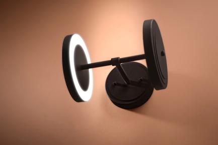 Press kit | 2110-02 - Press release | Larose Guyon's new lighting collection Le Royer - Larose Guyon - Lighting Design - Le Royer - Wall Double - Photo credit: Larose Guyon