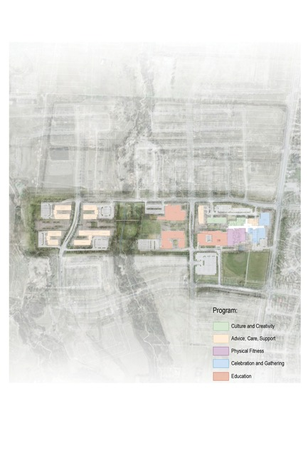 Press kit   1087-00 - Press release   UJA Federation Community Complex - ARK - Competition - Photo credit: ARK Architects+Research+Knowledge Inc.