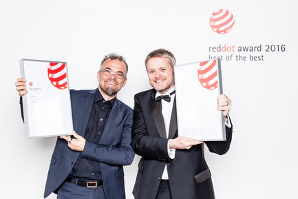 Dossier de presse | 1696-11 - Communiqué de presse | Application phase for the Red Dot Award: Product Design 2017 begins - Red Dot Award - Competition - Red Dot: Best of the Best winners 2016 (Airbus A350 XWB)<br> - Crédit photo :  Red Dot<br>