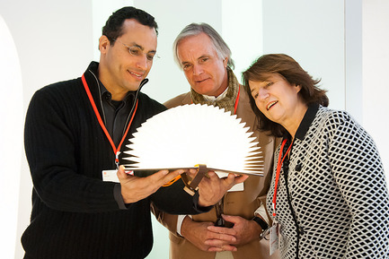 Press kit | 1696-11 - Press release | Application phase for the Red Dot Award: Product Design 2017 begins - Red Dot Award - Competition - Red Dot jurors Guto Indio da Costa, Professor Carlos Hinrichsen and Dr. Luisa Bocchietto<br> - Photo credit: Red Dot<br>