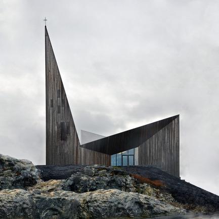 Press kit | 2220-01 - Press release | Église communautaire de Knarvik - Reiulf Ramstad Architectes - Architecture institutionnelle - Photo credit: RRA