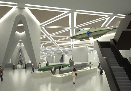 Press kit | 2234-01 - Press release | DMMRC – Dubai Maritime Museum & Research Centre - Studio Niko Kapa - Institutional Architecture - Interior - Photo credit: Studio Niko Kapa