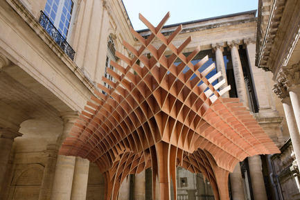 Dossier de presse | 982-10 - Communiqué de presse | The pavilions of the FAV 2013 - MontpellierRobin Juzon Architecte - Association Champ Libre - Festival des Architectures Vives (FAV) - Event + Exhibition - Robin JUZON - Architecte - Crédit photo : Paul Kozlowski
