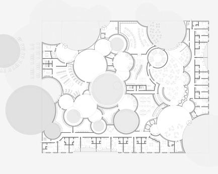 Press kit | 2255-01 - Press release | Liepāja Thermal Bath receives 2016 AAP American Architecture Prize - Steven Christensen Architecture - Institutional Architecture - Plan, Ground Floor - Photo credit: Steven Christensen Architecture