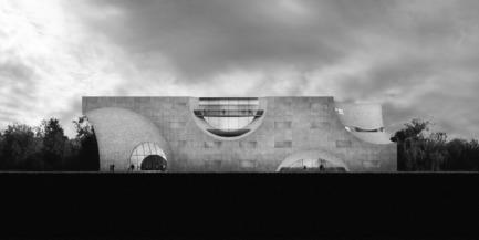 Press kit | 2255-01 - Press release | Liepāja Thermal Bath receives 2016 AAP American Architecture Prize - Steven Christensen Architecture - Institutional Architecture - East Elevation - Photo credit: Steven Christensen Architecture