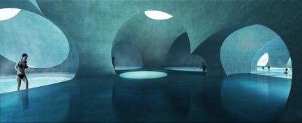 Press kit | 2255-01 - Press release | Liepāja Thermal Bath receives 2016 AAP American Architecture Prize - Steven Christensen Architecture - Institutional Architecture - Interior View - Photo credit: Steven Christensen Architecture