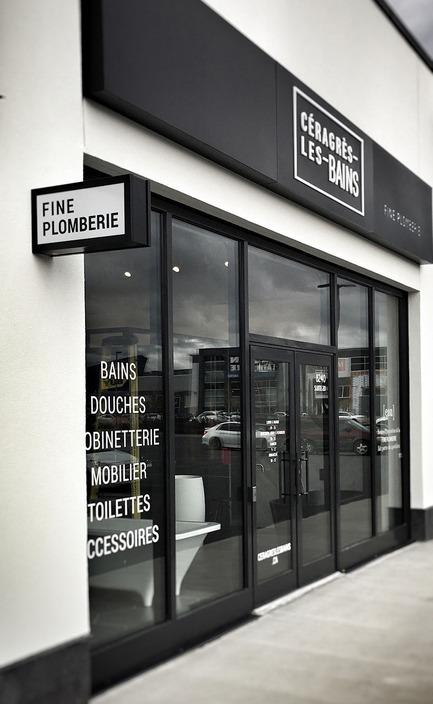 Press kit | 846-19 - Press release | Céragrès-Les-Bains : nouvelle boutique unique de fine plomberie au Quartier Dix30 - Céragrès - Produit - Céragrès-Les-Bains au Quartier Dix30 - Photo credit: Céragrès