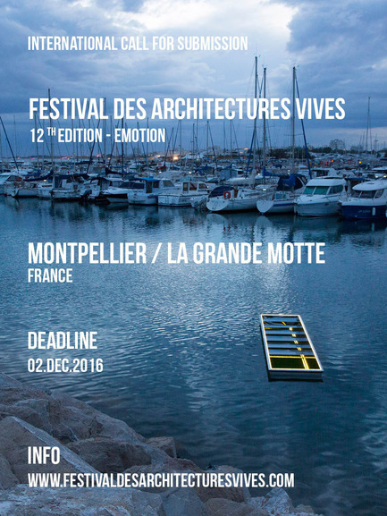Dossier de presse | 982-32 - Communiqué de presse | Call for submissions - FAV 2017 - Association Champ Libre - Festival des Architectures Vives (FAV) - Évènement + Exposition -  Appel à candidature FAV 2017  - Crédit photo : (c)FAV /Photoarchitecture