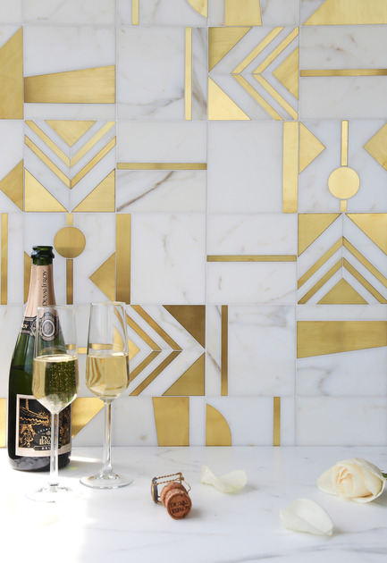 Press kit | 1650-01 - Press release | Launch of the Odyssée Collection by Mosaïque Surface - Mosaïque Surface - Residential Interior Design - Cirque / Odyssée Collection  - Photo credit: Mosaïque Surface