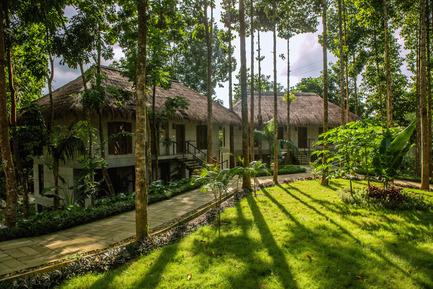 Dossier de presse | 2249-01 - Communiqué de presse | Dusai Resort & Spa - VITTI Sthapati Brindo Ltd. - Residential Architecture - Cottages - Crédit photo : Ahsanul Haque Rubel