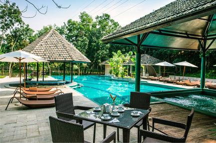 Dossier de presse | 2249-01 - Communiqué de presse | Dusai Resort & Spa - VITTI Sthapati Brindo Ltd. - Residential Architecture - Swimming Pool - Crédit photo : Hasan Saifuddin Chandan