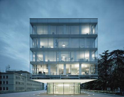 Press kit   2237-01 - Press release   World Trade Organization - wittfoht architekten - Institutional Architecture - crystalline volume<br> - Photo credit: brigida gonzález