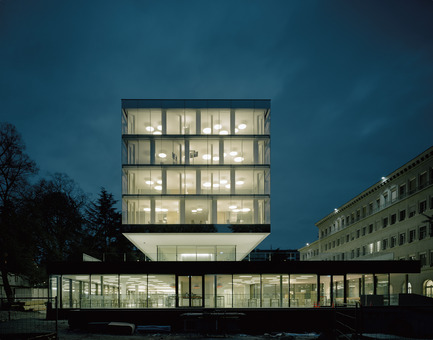 Press kit   2237-01 - Press release   World Trade Organization - wittfoht architekten - Institutional Architecture - wto by night<br> - Photo credit: brigida gonzález