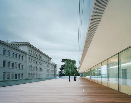 Press kit   2237-01 - Press release   World Trade Organization - wittfoht architekten - Institutional Architecture - dialogue between old and new - Photo credit: brigida gonzález<br>