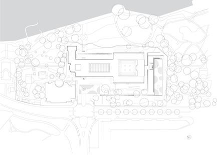 Press kit   2237-01 - Press release   World Trade Organization - wittfoht architekten - Institutional Architecture - site plan<br> - Photo credit: wittfoht architekten<br>