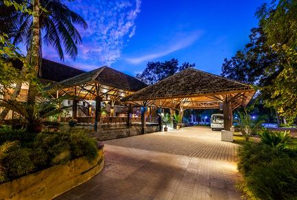 Dossier de presse | 2249-01 - Communiqué de presse | Dusai Resort & Spa - VITTI Sthapati Brindo Ltd. - Residential Architecture - Entrance and Reception - Crédit photo : Hasan Saifuddin Chandan