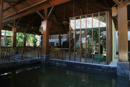 Dossier de presse | 2249-01 - Communiqué de presse | Dusai Resort & Spa - VITTI Sthapati Brindo Ltd. - Residential Architecture - Reception Detail - Crédit photo : Mustapha Khalid Palash