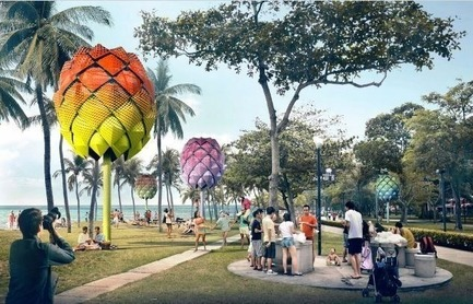Dossier de presse | 661-35 - Communiqué de presse | World Architecture Festival 2016 – Day One Winners of International Architectural Awards Announced - World Architecture Festival (WAF) - Institutional Architecture -  <br><br>  - Crédit photo : Experimental - Future Projects: Spark Architects, Beach Hut, Singapore