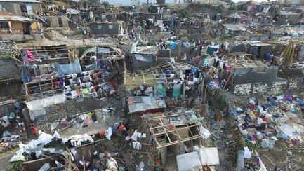 Press kit | 685-14 - Press release | Collecte de fonds et de matériaux pour Haïti - Architectes de l'urgence et de la coopération - Évènement + Exposition -                Ouragan Matthew, plus de 1000 morts en Haïti - Photo credit:         Nicolas GARCIA / AFP