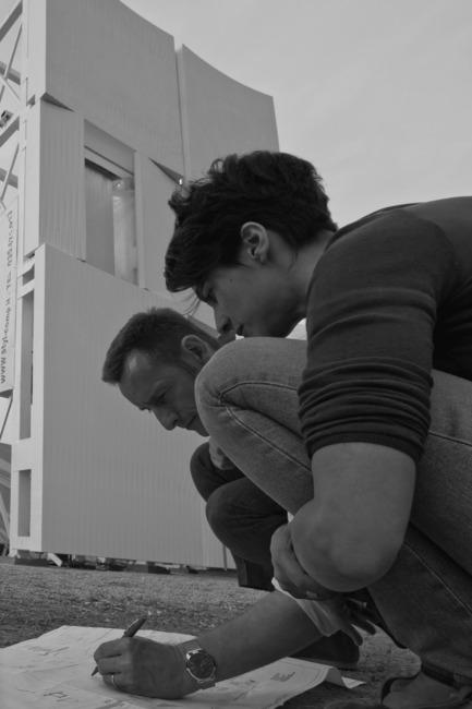 Press kit | 2211-01 - Press release | Dior Miami Facade - BarbaritoBancel Architects - Commercial Architecture - Ivana Barbarito - Benjamin Bancel - Facade Mockup - Photo credit: Alessandra Chemollo