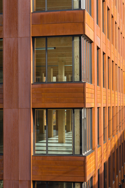 Press kit | 2207-01 - Press release | Minneapolis Claims The First Modern Mass Timber Office Building in the U.S. - MGA | MICHAEL GREEN ARCHITECTURE - Commercial Architecture - Photo credit: Ema Peter