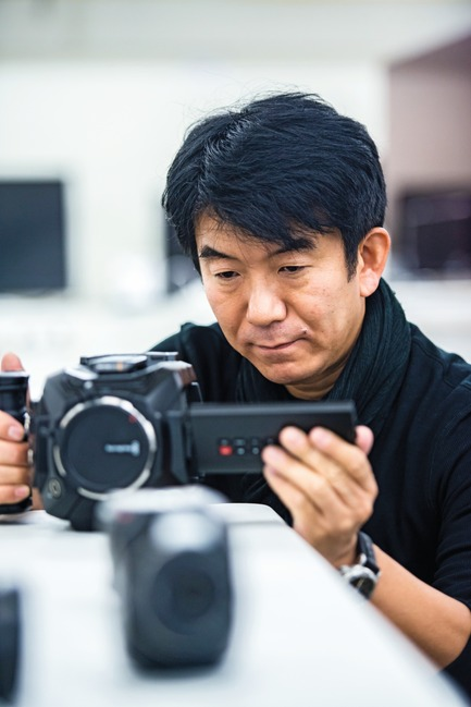 Press kit   1696-13 - Press release   Red Dot Award: Product Design 2017 – Names of first jurors announced - Red Dot Award - Competition - Red Dot juror Hideshi Hamaguchi<br> - Photo credit:  Red Dot