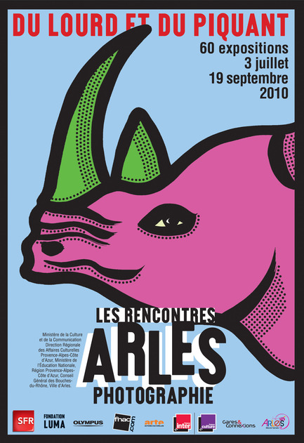 Press kit | 748-08 - Press release | Programmation 2013-2014 du Centre de design de l'UQAM - Centre de design de l'UQAM - Event + Exhibition - GROS PLANL'ART DE L'AFFICHE DE MICHEL BOUVETAffiche Arles 2010