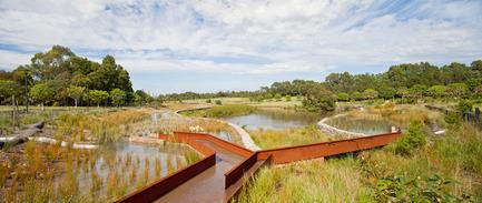 Press kit | 2210-01 - Press release | Sydney Park Water Re-Use Project - Turf Design Studio & Environmental Partnership - Landscape Architecture - Photo credit: Simon Wood Photography