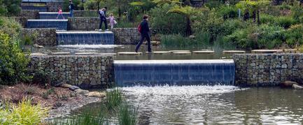 Press kit | 2210-01 - Press release | Sydney Park Water Re-Use Project - Turf Design Studio & Environmental Partnership - Landscape Architecture - Photo credit: Paul Patterson