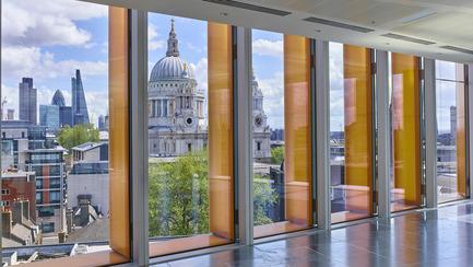 Dossier de presse | 2337-01 - Communiqué de presse | One New Ludgate - Fletcher Priest Architects - Commercial Architecture - View of St Paul's Cathedral - Crédit photo : Timothy Soar