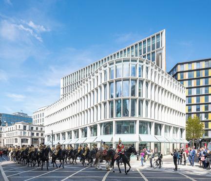 Dossier de presse | 2337-01 - Communiqué de presse | One New Ludgate - Fletcher Priest Architects - Commercial Architecture - Crédit photo : Timothy Soar