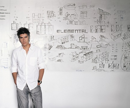Press kit | 2181-03 - Press release | Alejandro Aravena, Winner of the Prestigious Pritzker Prize, Will Be a Keynote Speaker at the Great Montreal Gathering in October 2017 - World Design Summit Organization (WDSO) - Commercial Architecture - Alejandro Aravena - Photo credit: Cristobal Palma
