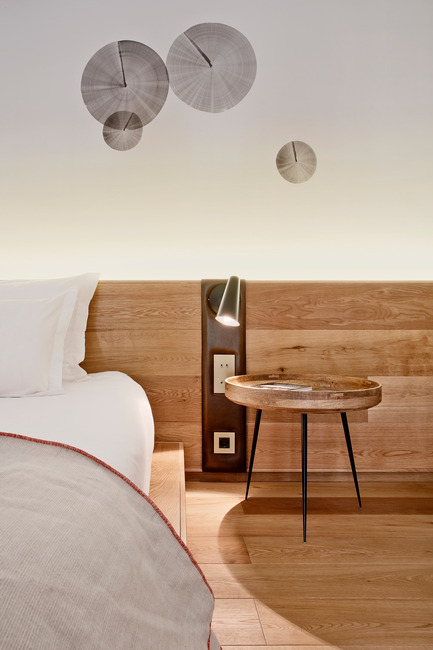 Press kit   2303-01 - Press release   Puro Hotel - OHLAB - Commercial Interior Design - Headboard detail - Photo credit: José Hevia