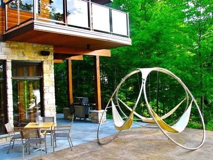 Dossier de presse   1083-01 - Communiqué de presse   Trinity invente le concept du hamac convivial - Trinity hammocks - Produit - Crédit photo : Trinity Hammocks