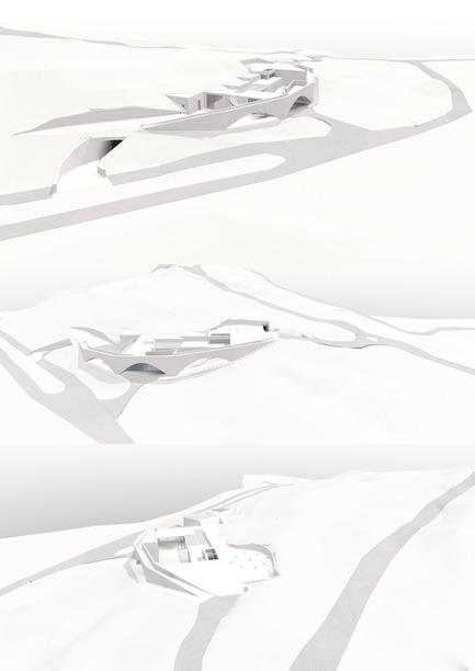 Press kit | 2219-01 - Press release | Winery in Chianti - IB Studio _ Arch. Invernizzi & Bonzanigo - Commercial Architecture - model - Photo credit: IB Studio _ Arch. Invernizzi & Bonzanigo